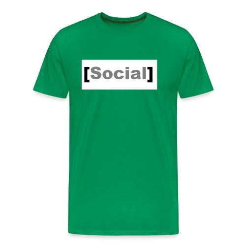 SocialMoods - Männer Premium T-Shirt