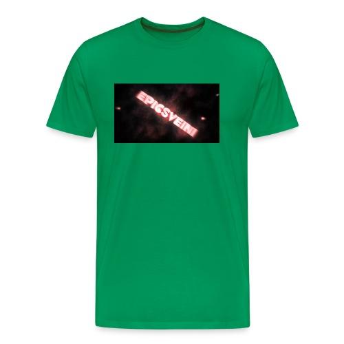 Epicsveini Musemappe - Premium T-skjorte for menn