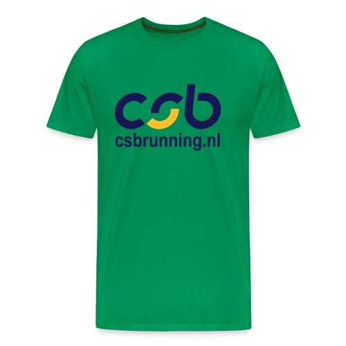 logo csb nieuw 2017 csbrunning - Mannen Premium T-shirt