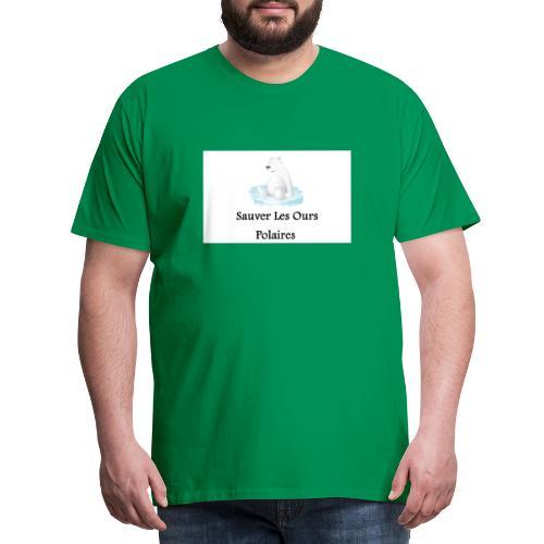 Sauver Les Ours Polaires - T-shirt Premium Homme