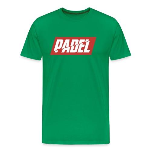 Padel - Maglietta Premium da uomo