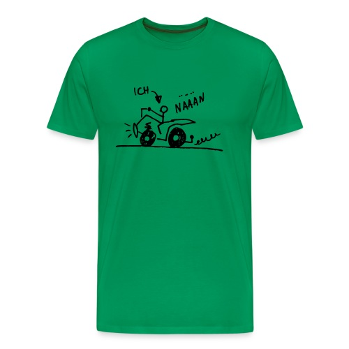 Quad näään - Männer Premium T-Shirt