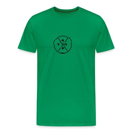 LOGO Schwarz 2 - Männer Premium T-Shirt
