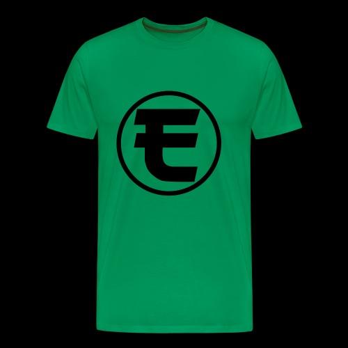 Evanus T-Shirt Wit - Mannen Premium T-shirt