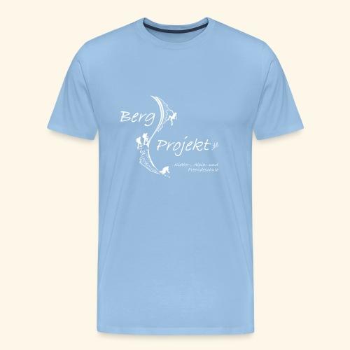 BP transp Schrift - Männer Premium T-Shirt