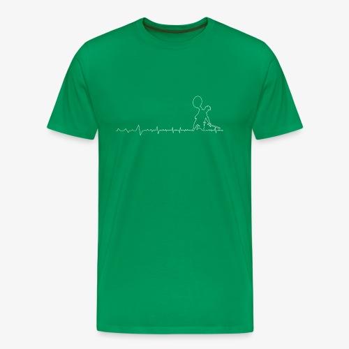 Spartan Warrior Fighting - Men's Premium T-Shirt