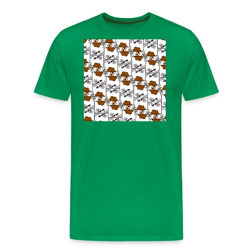 Cow Matrix - Men's Premium T-Shirt