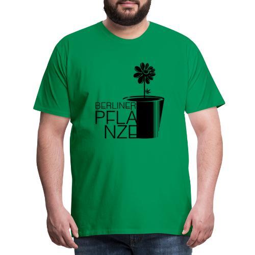 Berliner Pflanze - BERLIN, BERLIN - Männer Premium T-Shirt