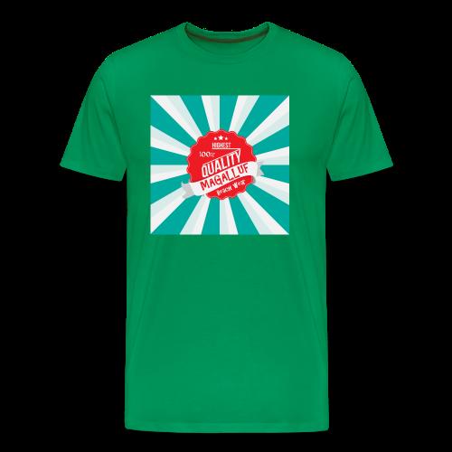 Magalluf-Badge - Men's Premium T-Shirt