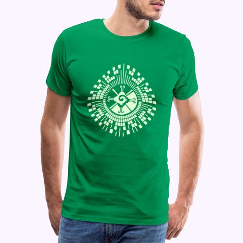 Hunab Ku DNA Tree - Miesten premium t-paita