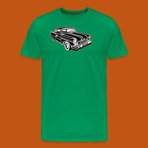 Chevy Cadilac / Muscle Car 02_schwarz weiß - Männer Premium T-Shirt