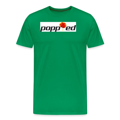 POPPIED - Maglietta Premium da uomo