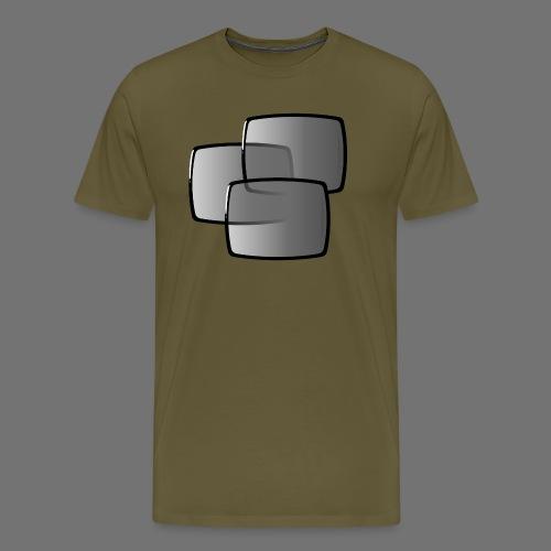 TV screens focusing screen TV - Men's Premium T-Shirt