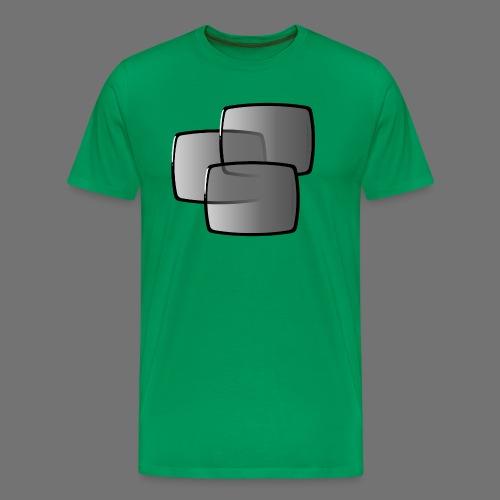 Ekrany telewizyjne skupiające ekranem - Koszulka męska Premium