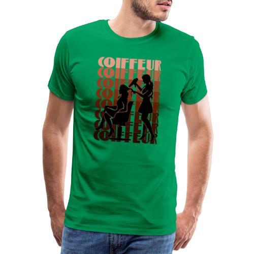 Coiffeur - Männer Premium T-Shirt