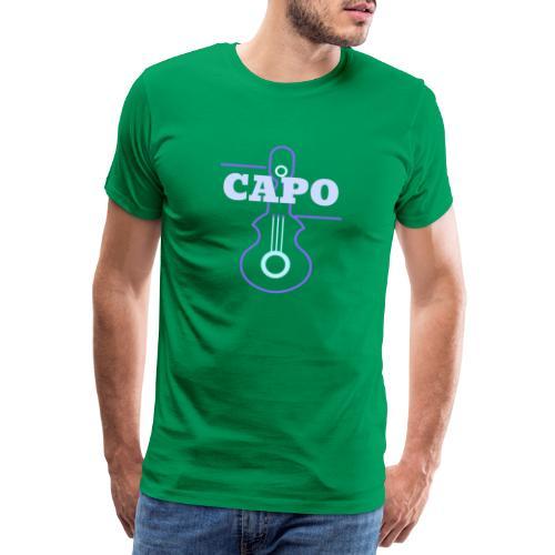 Guitar Capo - Männer Premium T-Shirt