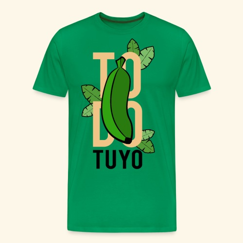Camiseta Platanera TODO TUYO (LAVAINA) - Camiseta premium hombre