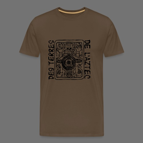 Des Terres De L'Aztec (black) - Men's Premium T-Shirt