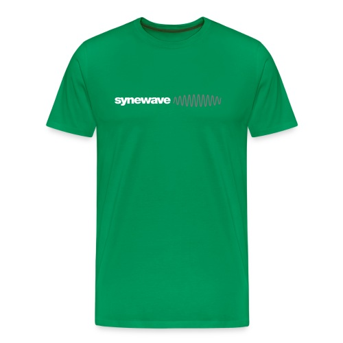 Synewave Records T-Shirt 2011 Special Series (red - Men's Premium T-Shirt
