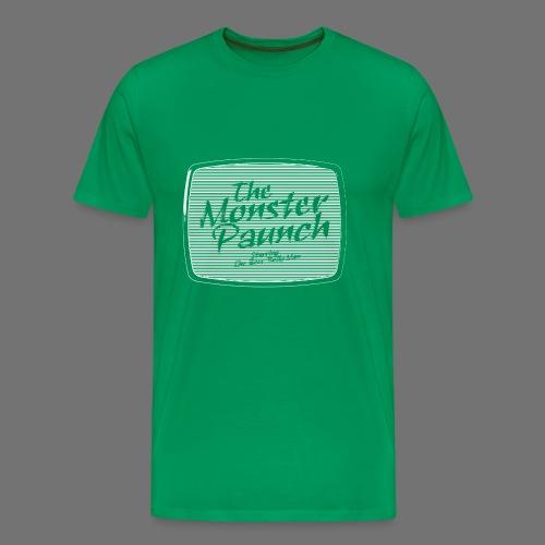 Brzuch Monster (biały) - Koszulka męska Premium