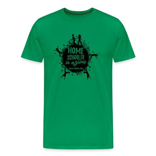 Homeschooler in azione - Maglietta Premium da uomo