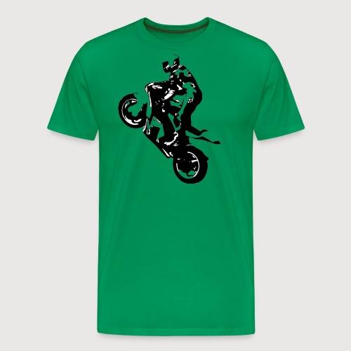 BR Wheelie style Black - Männer Premium T-Shirt