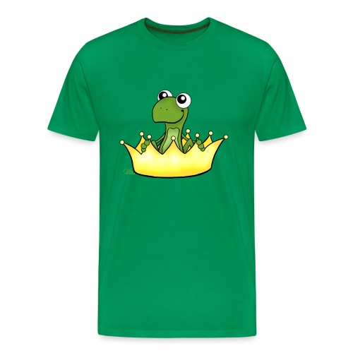 Froschikönig - Männer Premium T-Shirt