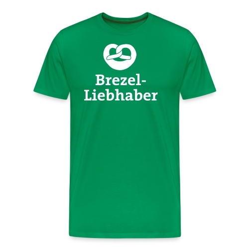 Brezel Liebhaber - Männer Premium T-Shirt