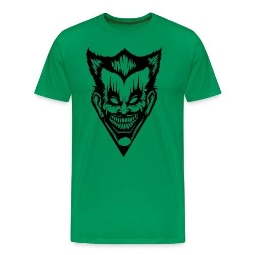 Horror Face - Männer Premium T-Shirt