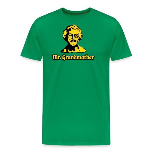 mrgrandmother - Premium T-skjorte for menn