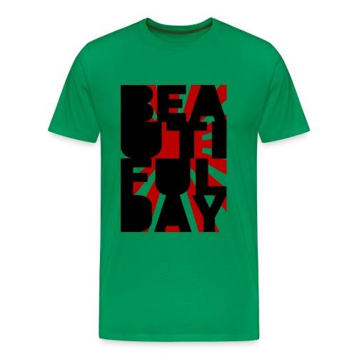 Beautiful Day (Sun) - Männer Premium T-Shirt