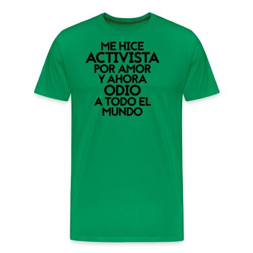 Activista por amor - Men's Premium T-Shirt