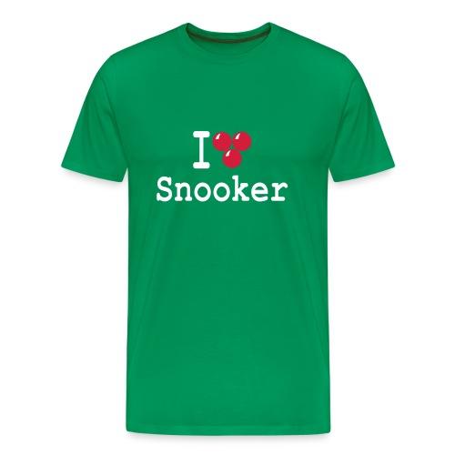 ilovesnooker - Men's Premium T-Shirt