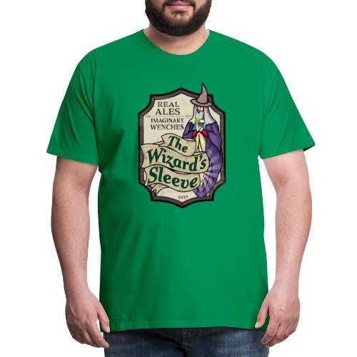 Wizard's Sleeve Pub Sign - Men's Premium T-Shirt