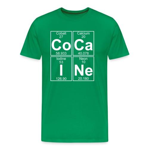 Co-Ca-I-Ne (cocaine) - Full - Men's Premium T-Shirt