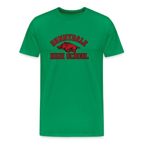 Sunnydale High School logo merch - Mannen Premium T-shirt