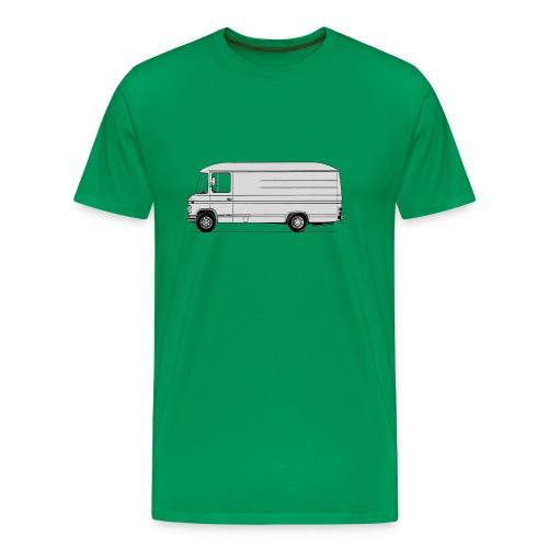 MB508 lang hoog - Mannen Premium T-shirt