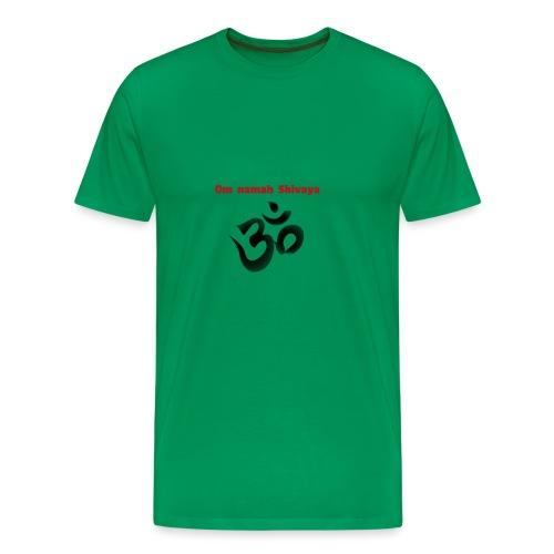 Om namah Shivaya - Männer Premium T-Shirt