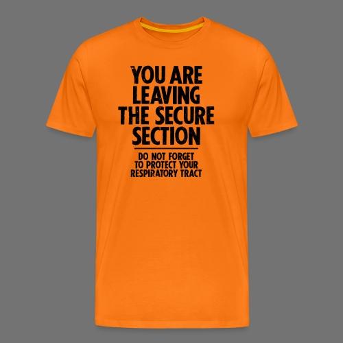 Secure Section (black) - Men's Premium T-Shirt