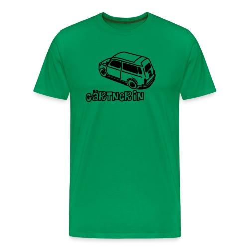 Gärtnerin - Männer Premium T-Shirt