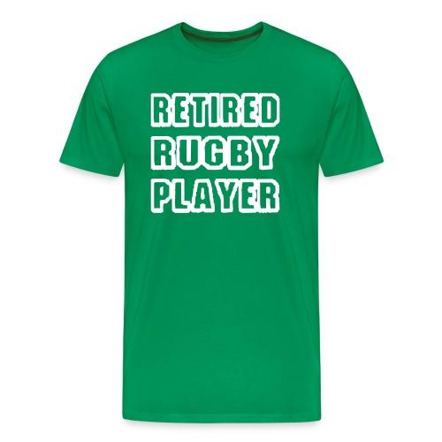 retired player - Men's Premium T-Shirt