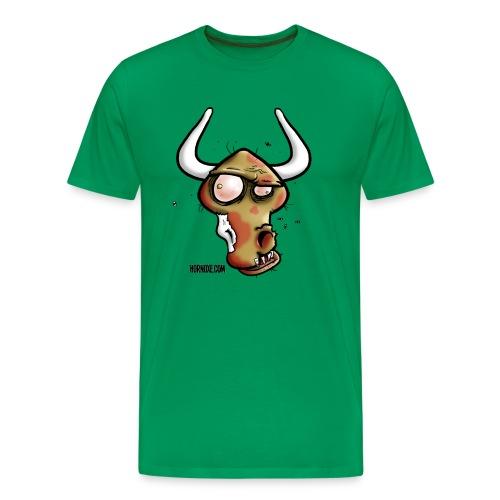 Zombie Oxe - Männer Premium T-Shirt