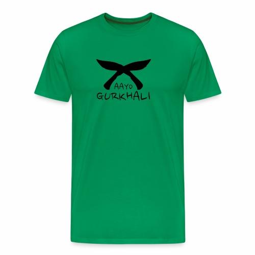 AAYO GURKHALI - Men's Premium T-Shirt