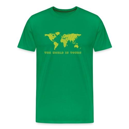 world is yours - Mannen Premium T-shirt