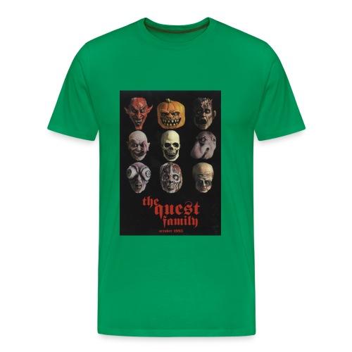 quest 1093 f b - Men's Premium T-Shirt