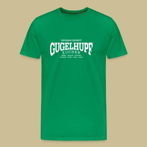 Gugelhupf (white) - Männer Premium T-Shirt