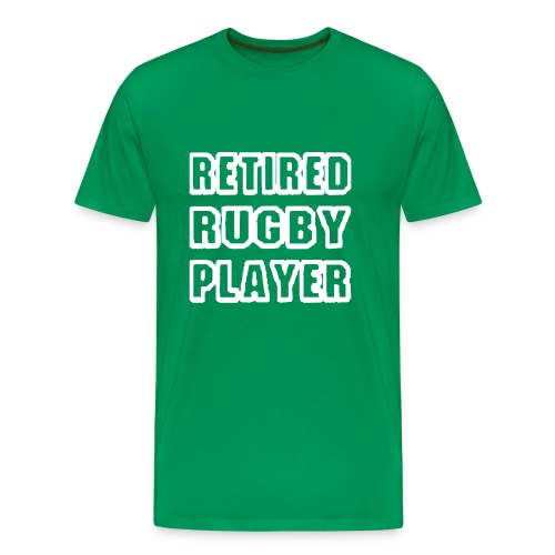 retired player - Men's Premium T-Shirt