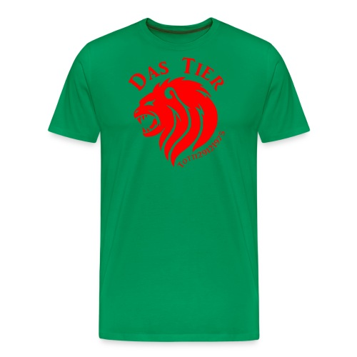 Das rote Tier - Männer Premium T-Shirt