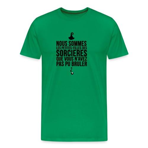 filles de sorcières - T-shirt Premium Homme