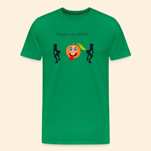 Bougez vos pêches ! - T-shirt Premium Homme